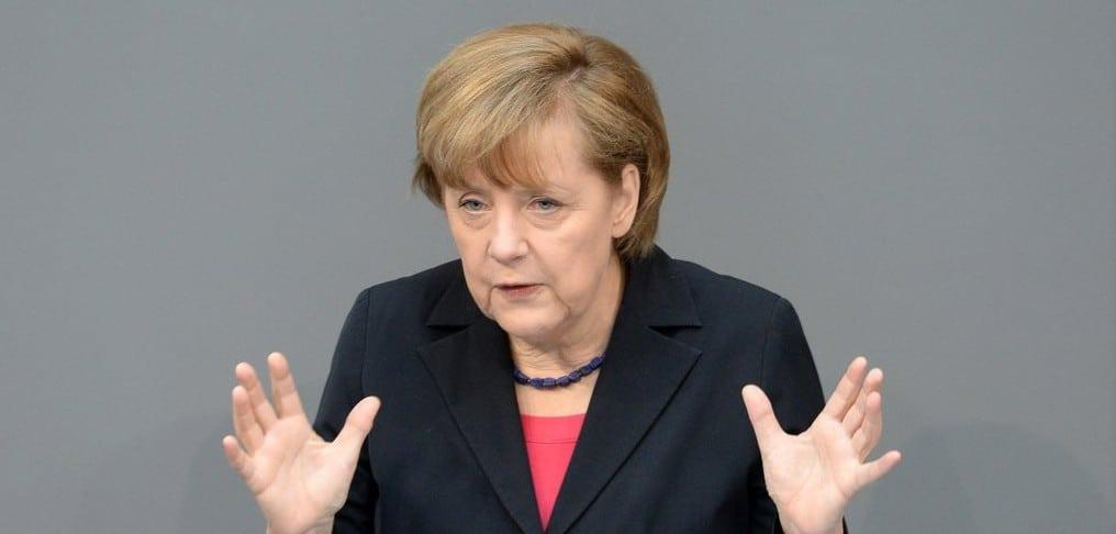 Angela Merkel - Foto: © Deutscher Bundestag - Achim Melde