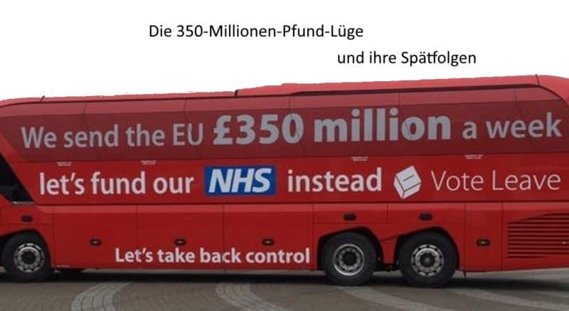 350-Millionen-Pfund-Lüge